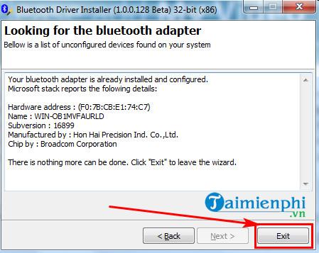 Cách tải và cài đặt Bluetooth Driver 5