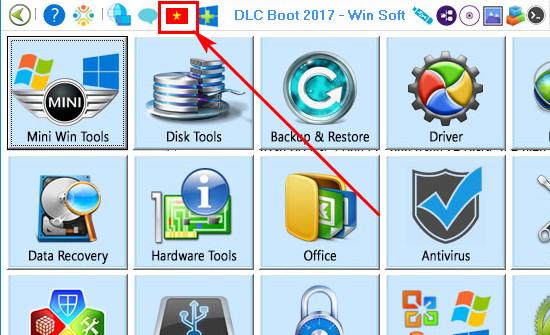 Cách sử dụng DLC Boot, sửa chữa, cứu hộ phần mềm máy tính 2