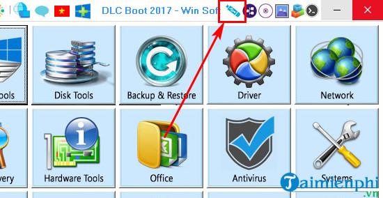 Cách sử dụng DLC Boot, sửa chữa, cứu hộ phần mềm máy tính 4