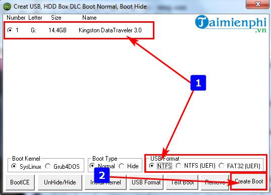 Cách sử dụng DLC Boot, sửa chữa, cứu hộ phần mềm máy tính 5
