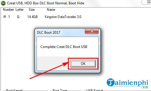 Cách sử dụng DLC Boot, sửa chữa, cứu hộ phần mềm máy tính 8