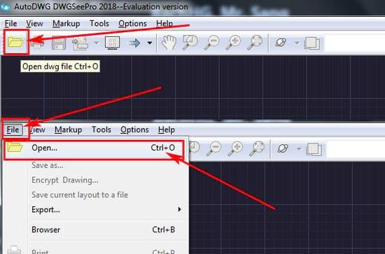 Cách sử dụng Free DWG Viewer, xem file DWG trên máy tính