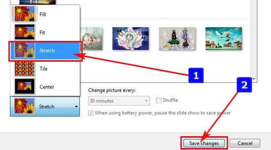 Cách chỉnh ảnh cho vừa màn hình Desktop 4