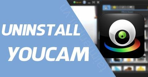 cach go cyberlink youcam tren may tinh