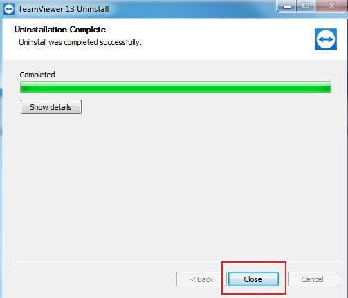 Cách gỡ cài đặt TeamViewer trên máy tính, phần mềm điều khiển máy tính