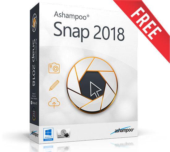 giveaway ashampoo snap 2018