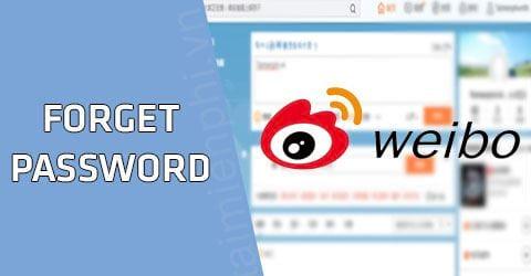 Quên mật khẩu Weibo lấy lại như thế nào? 0