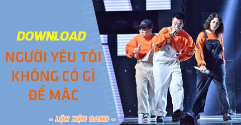 huong dan tai video va mp3 bai nguoi yeu toi khong co gi de mac