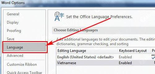 Cách cài tiếng Việt cho Office 2016 3