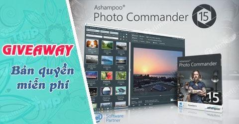 giveaway ban quyen mien phi ashampoo photo commander 15 phan mem chinh sua anh chuyen nghiep tu 23 4