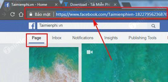 Cách copy link facebook trên máy tính 4