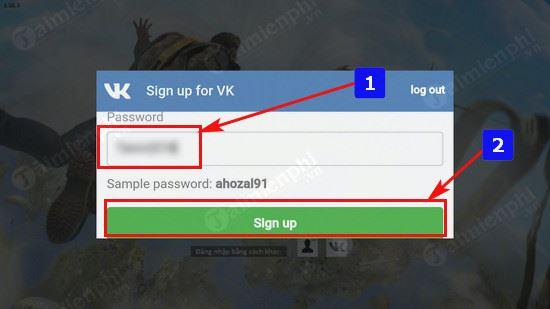 Password Free Fire