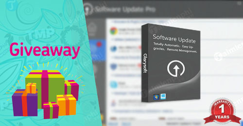 giveaway ban quyen mien phi software update pro