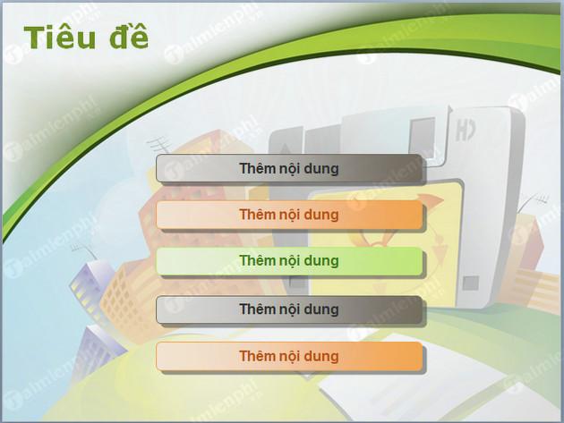 Tải những mẫu PowerPoint, mẫu Slide đẹp 6