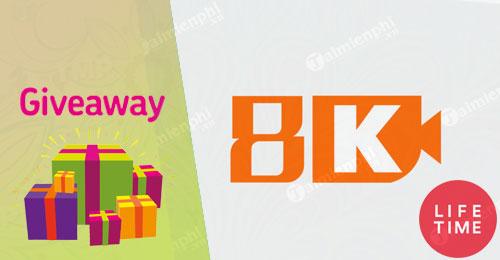 giveaway ban quyen mien phi 8k player