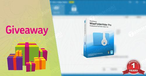 giveaway wise folder hider free