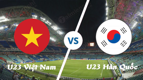 link to watch the continuation u23 Vietnam and the korean u23