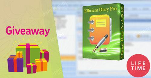 giveaway ban quyen mien phi efficient diary pro
