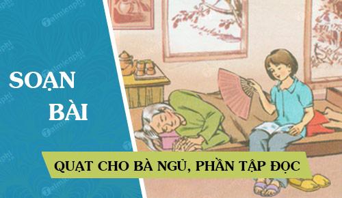 soan bai quat cho ba ngu phan tap doc