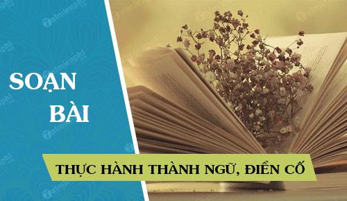 soan bai thuc hanh thanh ngu dien co