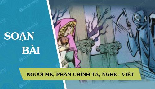 soan bai nguoi me phan chinh ta nghe viet