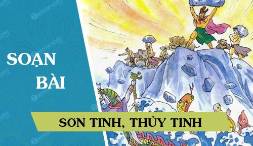 Soan bai Son Tinh Thuy Tinh