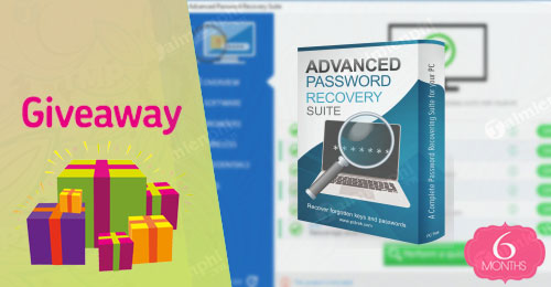 giveaway ban quyen mien phi pc trek advanced password recovery suite