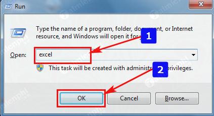 Cách mở Excel trên máy tính, mở file xls, xlsx 3