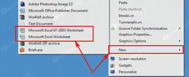 Cách mở Excel trên máy tính, mở file xls, xlsx 4