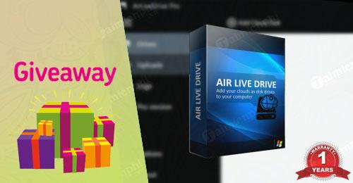 giveaway ban quyen mien phi air live drive pro
