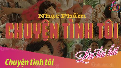 Lời bài hát Chuyện Tình Tôi, Kay Trần
