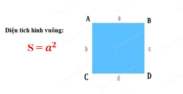 Công thức tính diện tích tứ giác 3