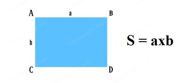 Công thức tính diện tích tứ giác 4