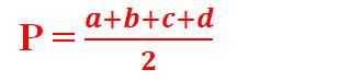 Công thức tính diện tích tứ giác 8