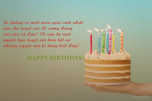 Lời chúc sinh nhật ngắn gọn mà hay 2
