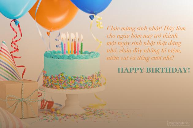 Lời chúc sinh nhật ngắn gọn mà hay 3