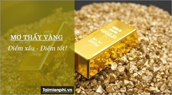 Nằm mơ thấy vàng, ý nghĩa của việc mơ thấy vàng 2