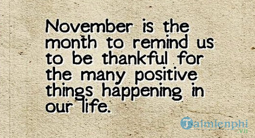 Chào tháng 11, câu nói, hình ảnh hay về tháng 11