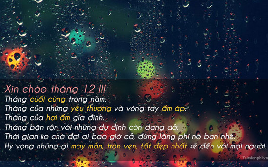 Hinh Anh Chao Thang 12 Lam Stt 3