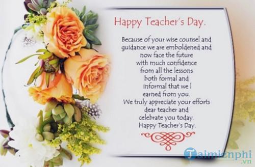 Những bài thơ lục bát về thầy cô giáo 2