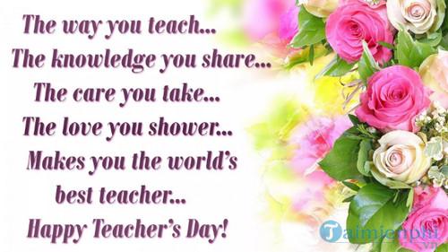 Những bài thơ lục bát về thầy cô giáo 4