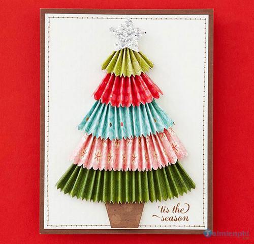 Thiệp Giáng sinh handmade đẹp