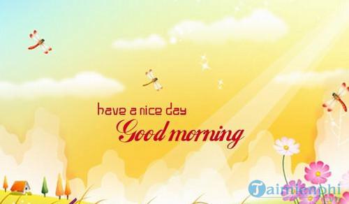 Bài thơ chào ngày mới, chào buổi sáng vui vẻ ý nghĩa 2