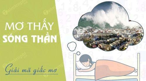 Nằm mơ thấy sóng thần, sóng thần cuốn