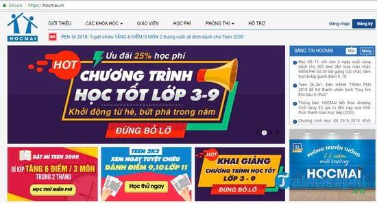 top nhung website luyen thi truc tuyen online tot uy tin cho hoc sinh