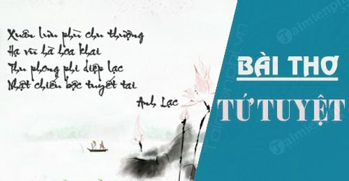 [TaiMienPhi.Vn] Những bài thơ tứ tuyệt hay nhất, thơ về mưa, tình yêu, mùa thu ...