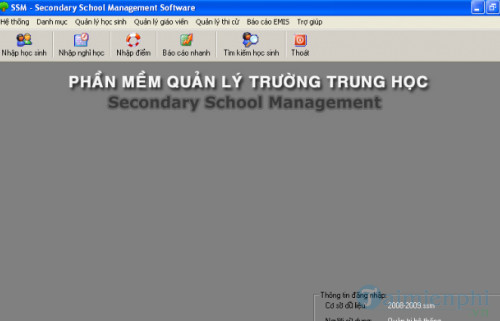 Danh sách phần mềm quản lý học sinh tốt nhất 5