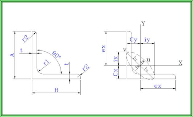 Bảng tra thép hình I, H, U, V, L chuẩn 11