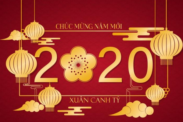 Những thiệp chúc tết đẹp 2020 15