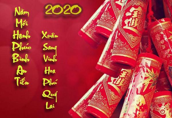 Những thiệp chúc tết đẹp 2020 22
